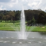 An Image of a floating fountain from Pool Spa