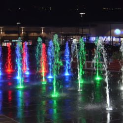light up fountains