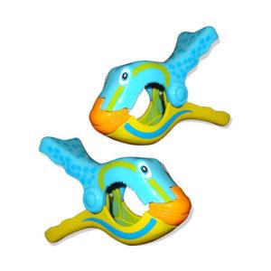 Blue Fish Boca Clip